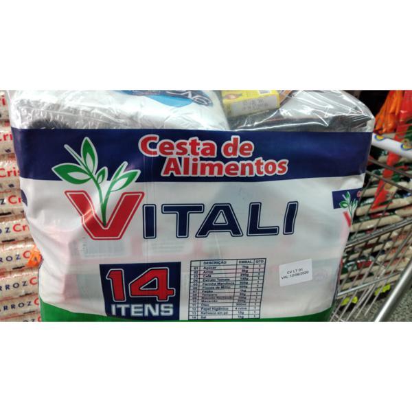 Cesta Básica VITALI 14 Itens