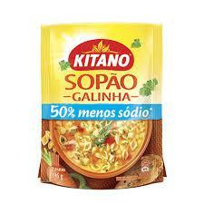 Sopão Kitano Galinha 196G