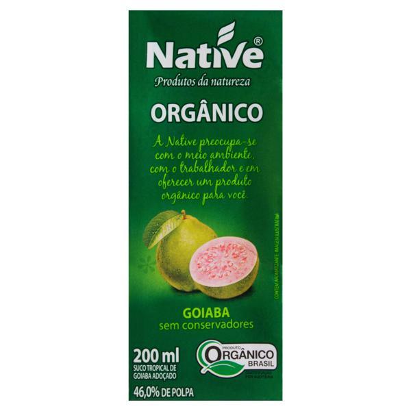 Suco Orgânico Goiaba Native Caixa 200ml