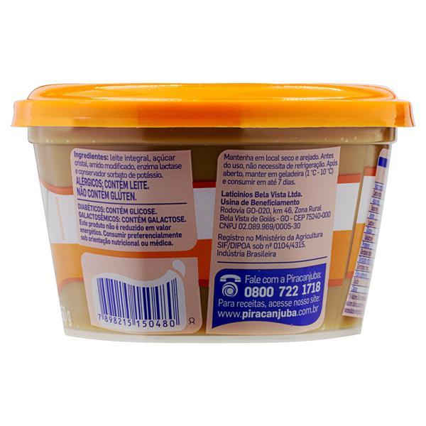 Doce de Leite Zero Lactose Piracanjuba Pote 350g