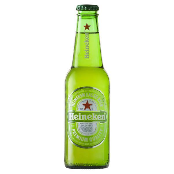 Cerveja Lager Heineken Garrafa 250ml