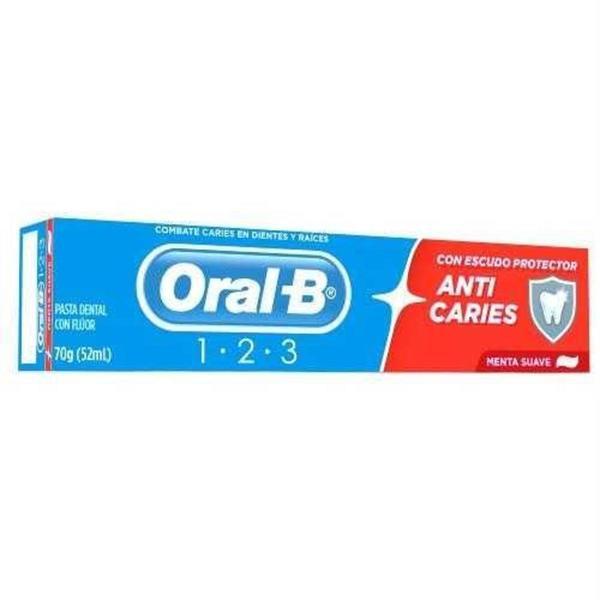 Creme Dental ORAL B 1-2-3 70g