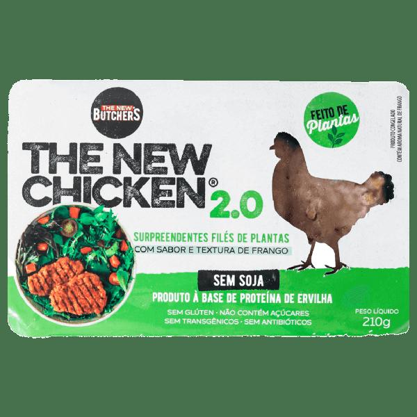 Filé de Frango 2.0 Vegetal Butchers 210g