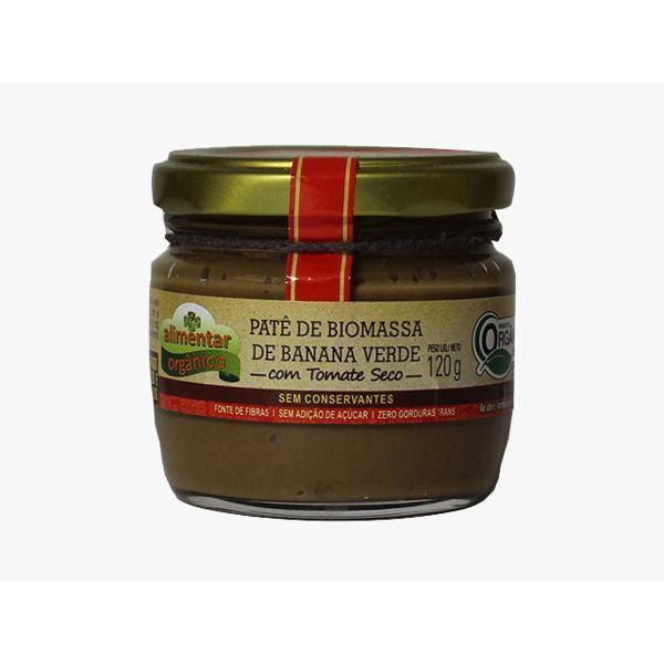 Patê de Biomassa de Banana Verde com TOMATE SECO - 120g