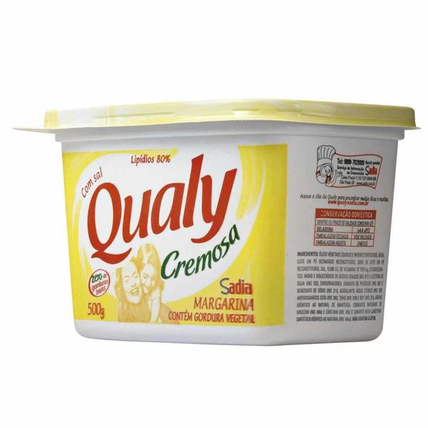 Margarina QUALY com Sal 500g