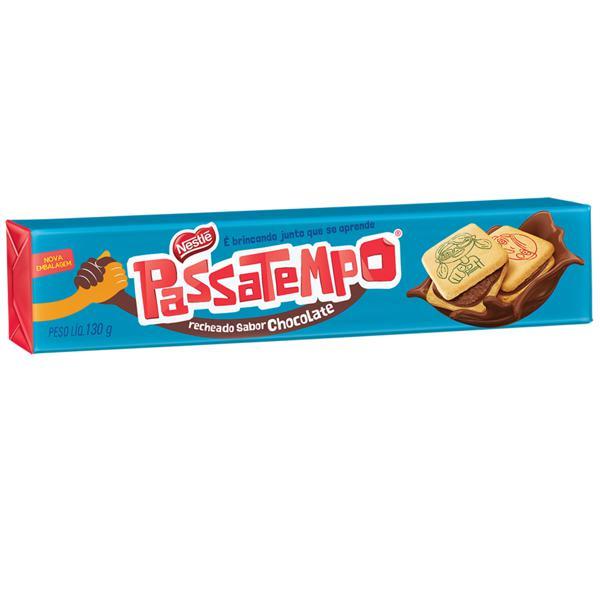 Biscoito NESTLÉ Passatempo Recheado de Chocolate 130g