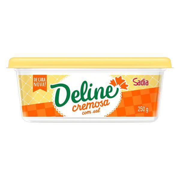 Margarina Cremosa com Sal Deline Pote 250g