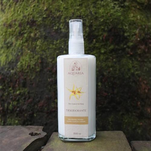 Desodorante Natural de Ylang 100ml - AQUÁRIA