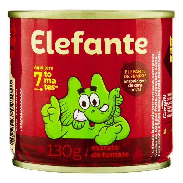 Extrato de Tomate Elefante Lata 130g