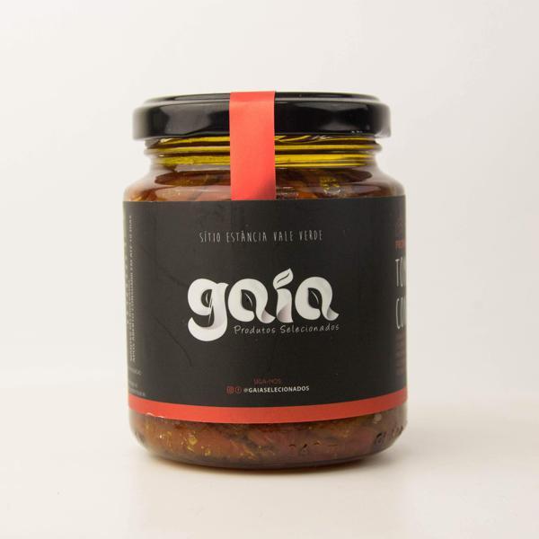 Tomates Confitados 210g - Gaia Produtos Selecionados