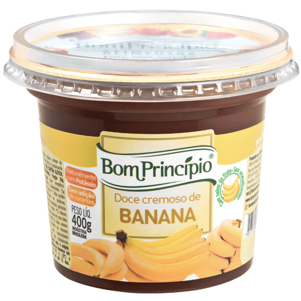 Doce Bom Principio 400G Banana