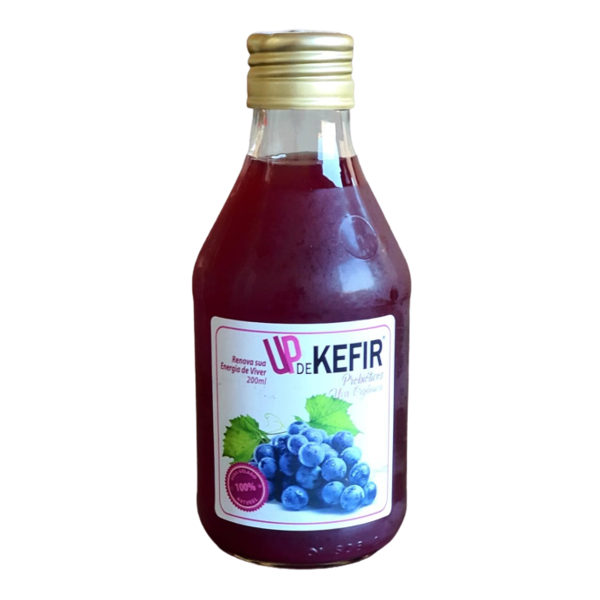 Kefir Natural com Uva Up 200ml