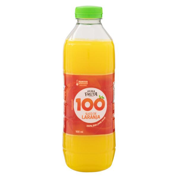Suco Laranja Pura Fruta Garrafa 900ml
