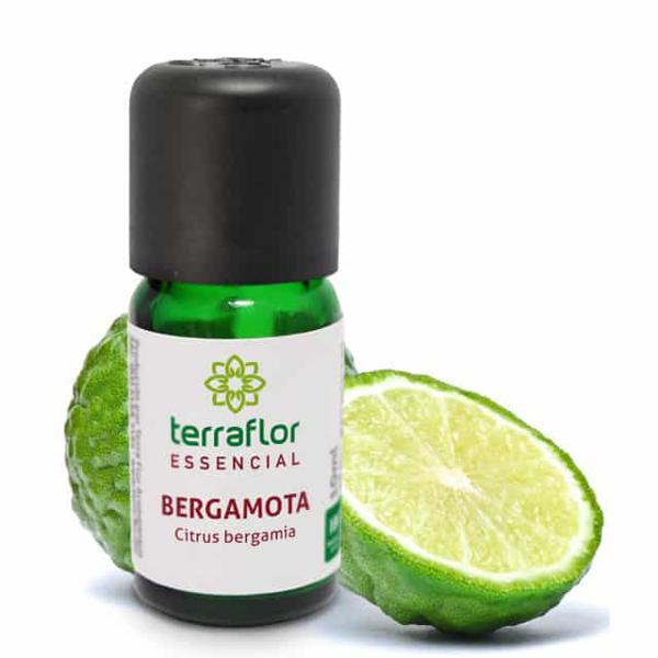 Óleo Essencial Bergamota 10 ml -TERRA-FLOR