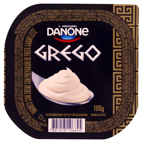 Iogurte Grego Tradicional Danone Pote 100g