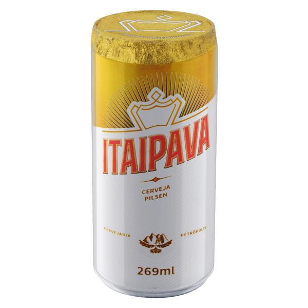 Cerveja Pilsen Itaipava Lata 269ml
