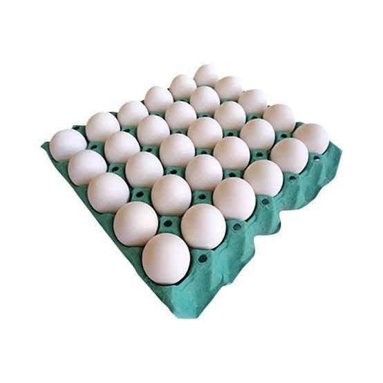Ovos KEROVOS Branco Grande Com 30 Unidades