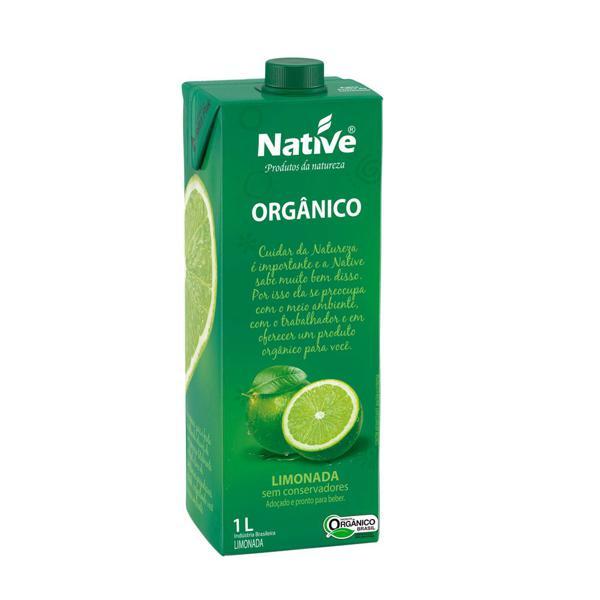 Limonada orgânica Native - 1 L
