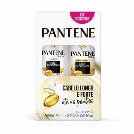 Kit PANTENE Shampoo e Condicionador Hidro-Cauterização 350ml e 175ml