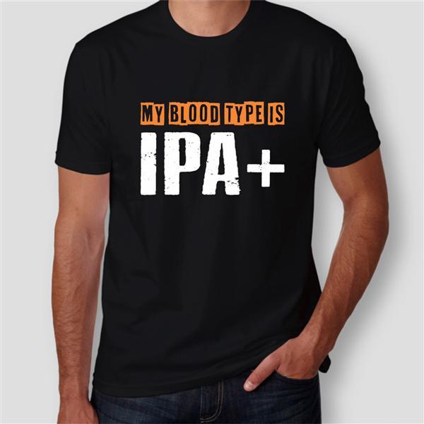 Camiseta My Blood Type Is IPA+