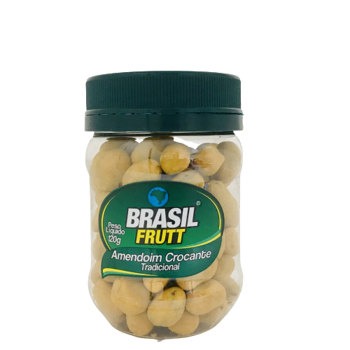 Amendoim Crocante Tradicional Brasil Frutt 120g