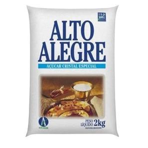Açúcar Cristal ALTO ALEGRE Pacote 2Kg