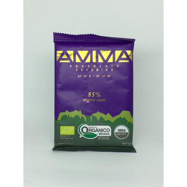 Tablete AMMA CHOCOLATES  85% Cacau 75g