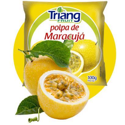 Polpa de Fruta TRIANG Maracujá 100g