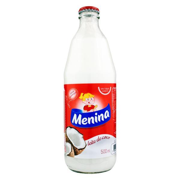 Leite de Coco Menina Vidro 500ml