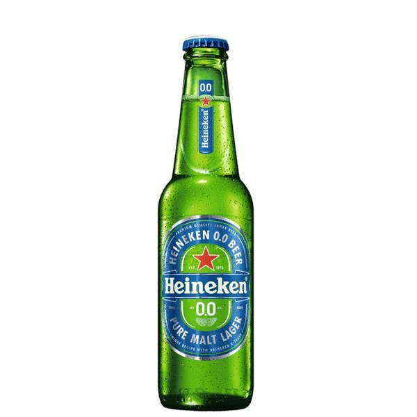 Cerveja Heineken Zero 330Ml Garrafa