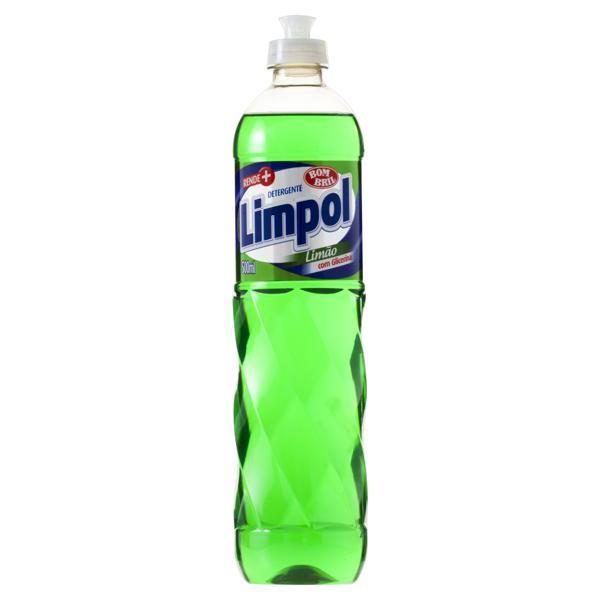 Detergente Líquido Limão Bom Bril Limpol Frasco 500ml
