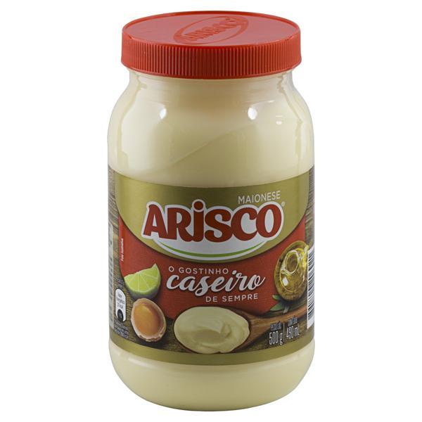 Maionese Arisco Pote 500g