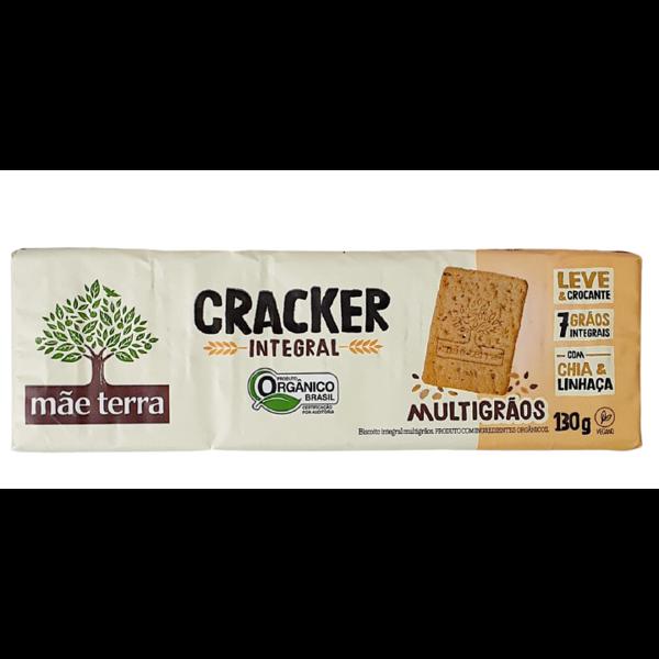 Cracker Orgânico Tribos Original Mãe Terra 130g