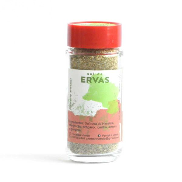 Sal de Ervas 75g - Porteira Verde