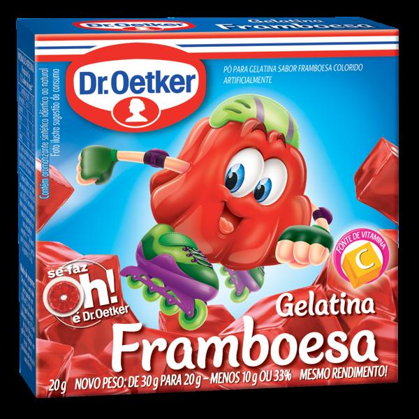 Gelatina em Pó Dr.OETKER Framboesa 20g