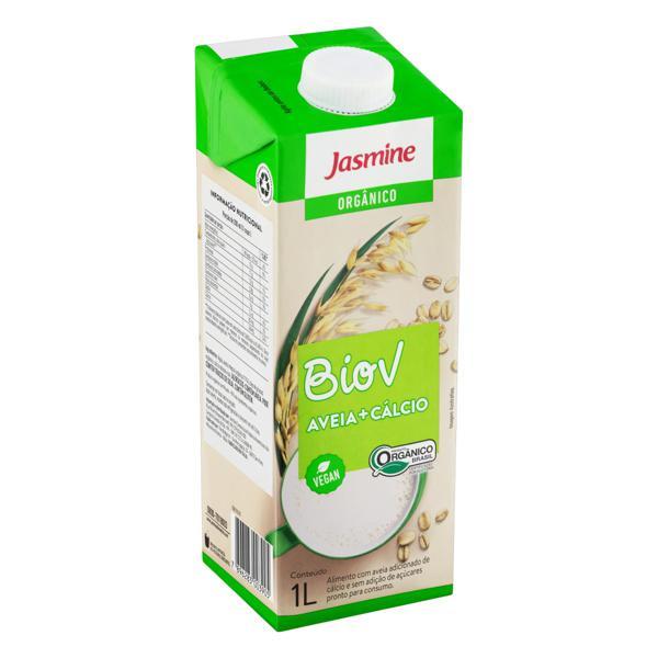 Bebida à Base de Aveia com Cálcio Orgânica Jasmine Biov Caixa 1l