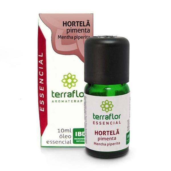 Óleo Essencial Hortelã Pimenta 10ml - TERRA-FLOR