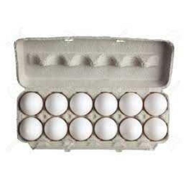 Ovos Brancos com 12 unidades