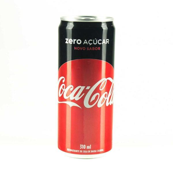 Refrigerante COCA COLA Zero Açúcar Lata 310ml