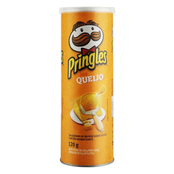 Salgadinho de Batata Queijo Pringles Tubo 120g