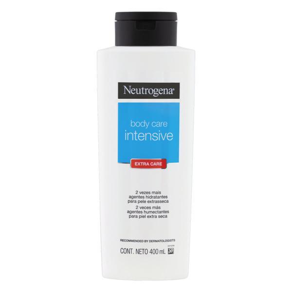 Loção Hidratante Extra Care Neutrogena Body Care Intensive Frasco 400ml