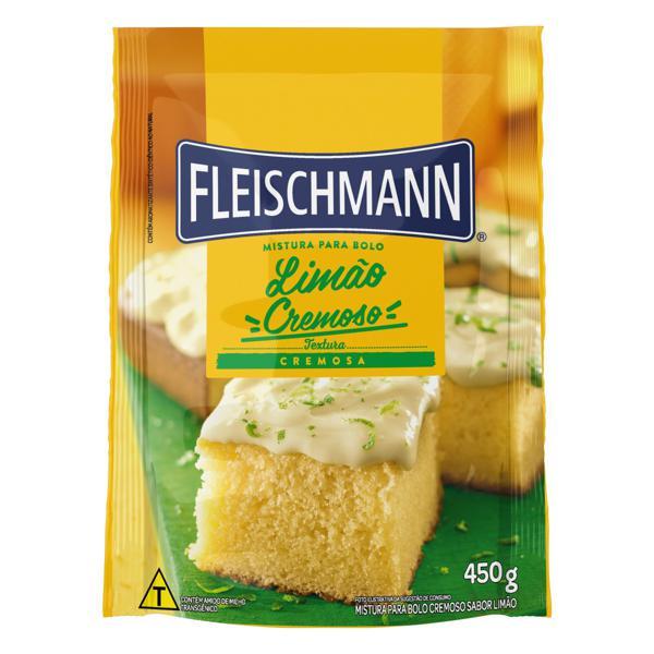 Mistura para Bolo Cremoso Limão Fleischmann Sachê 450g