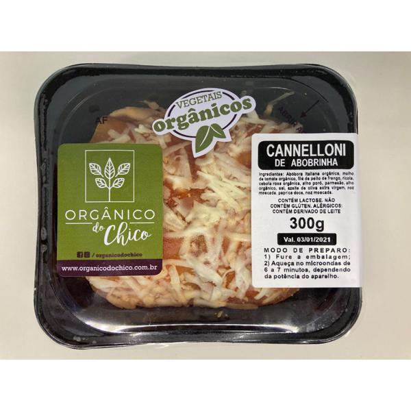 Cannelloni de Abobrinha 300g - Orgânico do Chico