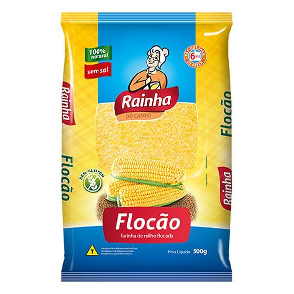 Flocao De Milho RAINHA 500G