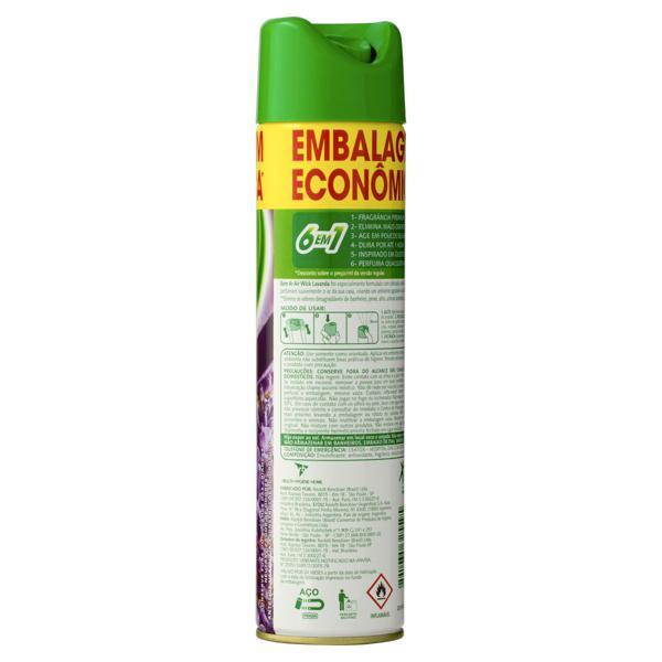 Neutralizador de Odores Lavanda Air Wick Bom Ar Frasco 360ml Embalagem Econômica
