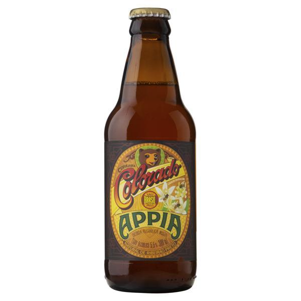 Cerveja Weiss Appia Colorado Garrafa 300ml