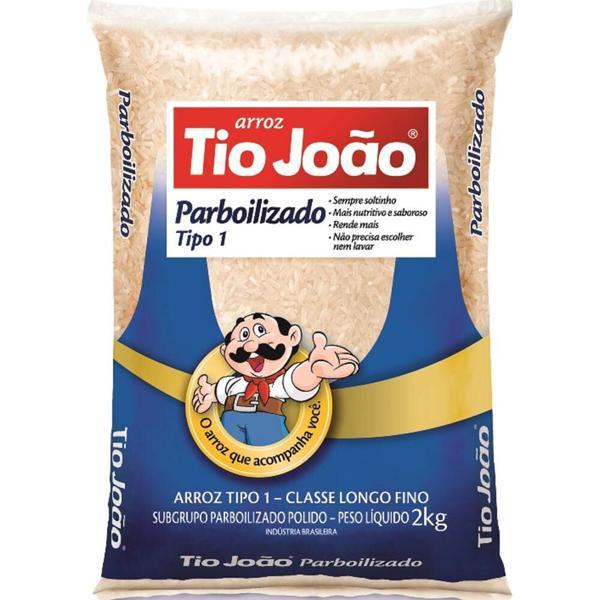 Arroz TIO JOÃO Parboilizado 2Kg