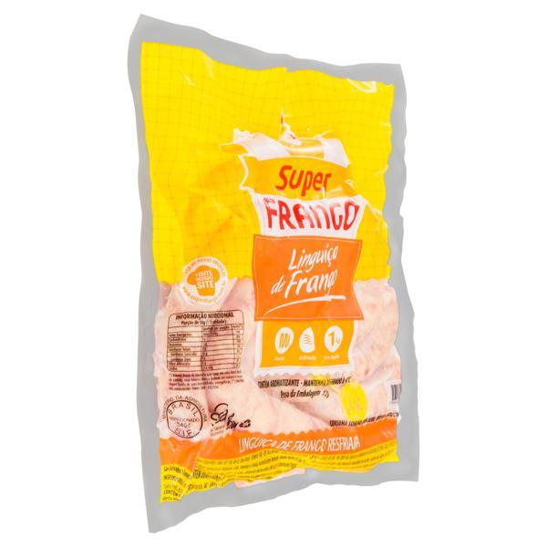 Linguiça de Frango Super Frango 1kg