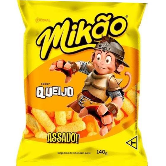 Salgadinho Mikão Queijo 140g