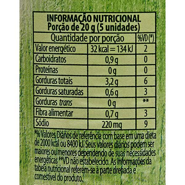 Azeitona Verde sem Caroço Bonduelle 320g